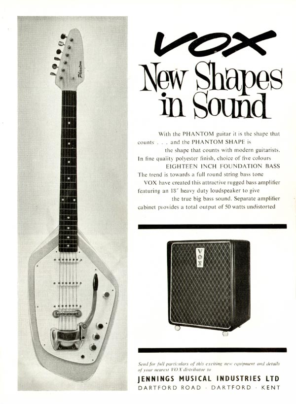 Vox Guitar Advert