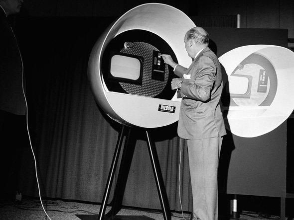 first cash machine