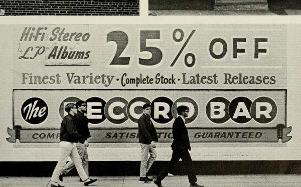 Record Shop Billboard