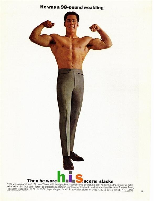 H.I.S Slacks 1960s Ad