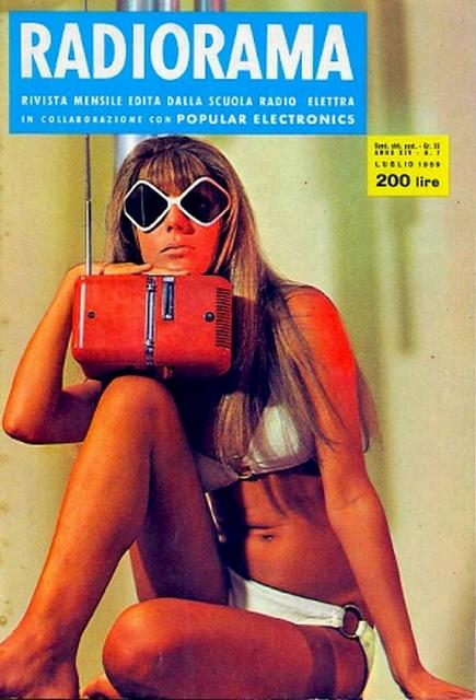 retro Italian Radiorama Magazine