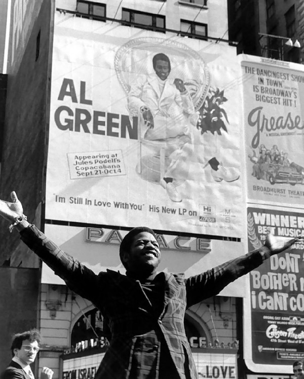 Al Green Billboard
