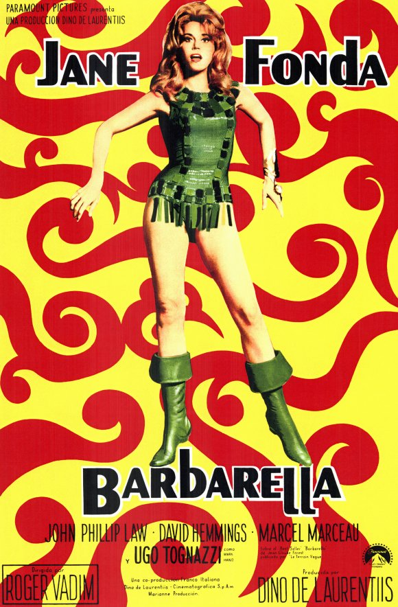 barbarella movie poster - photo #1