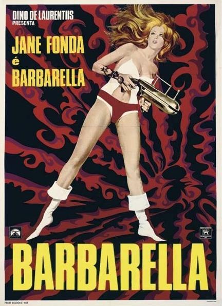 Barbarella italian poster