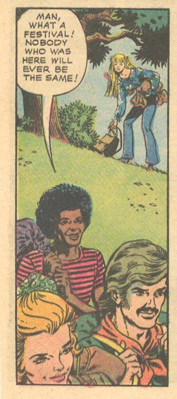 Hippy comic