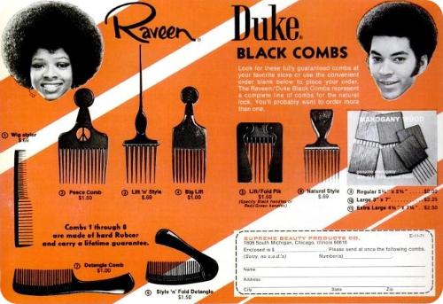 Duke combs