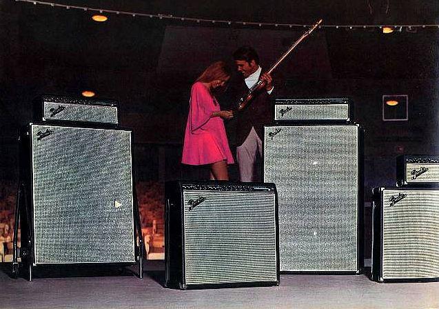 Fender Amps 1969