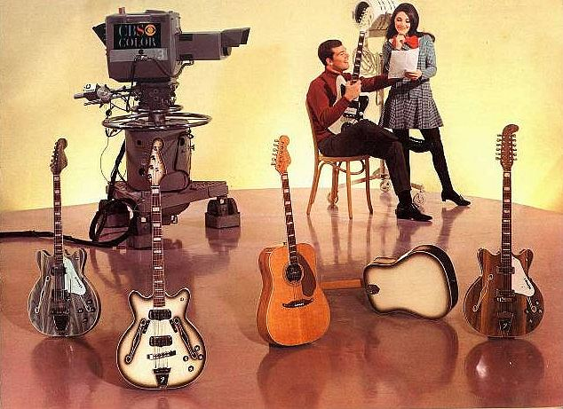 Fender guitars 1969