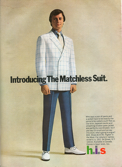 H.I.S Advert - The Matchless Suit