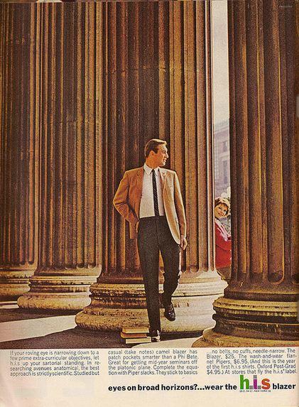 H.I.S Blazer Advert 1963