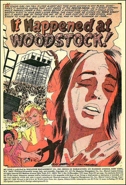 It happened at Woodstock
