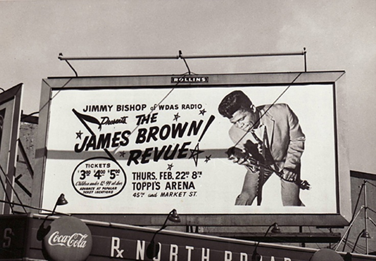 James Brown Billboard