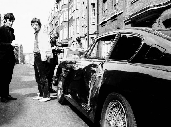 Mick Jagger Car Accident