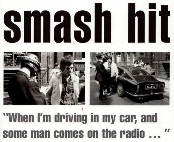 Mick Jagger Car Accident