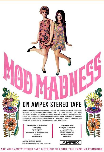 Mod Madness - Ampex Tapes