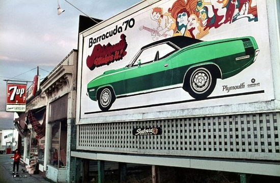 Plymouth 1970 Billboard
