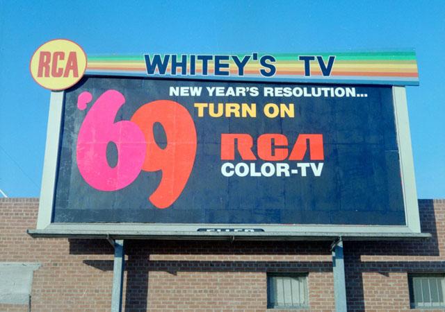 RCA 1969 Billboard