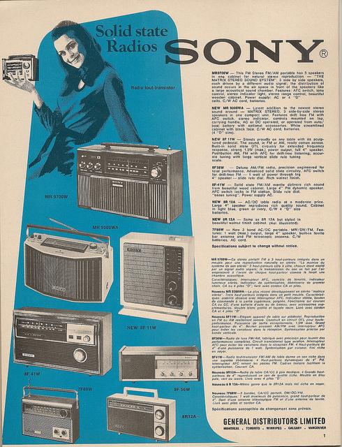 Radio 1970s