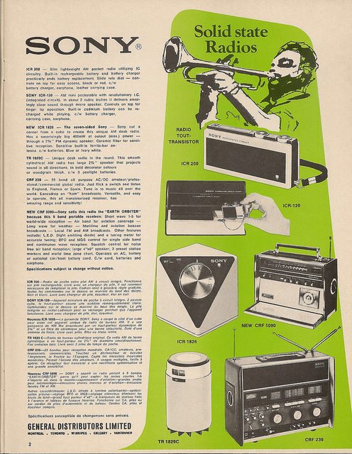 Catalogue - Radios 1970s