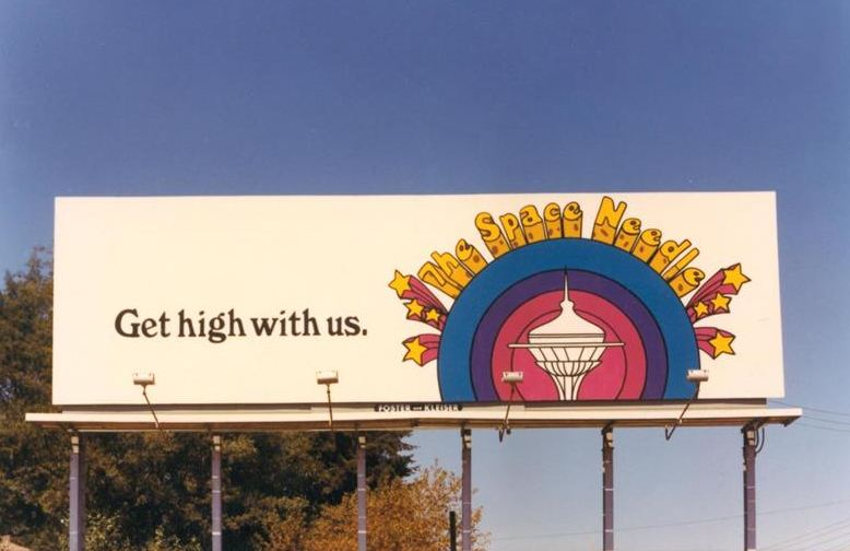 Space Needle Billboard