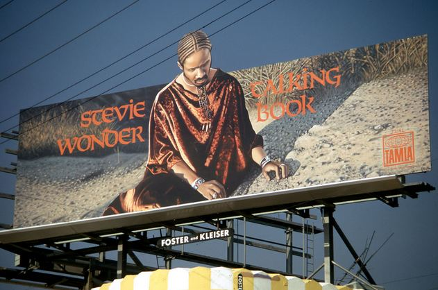 Stevie Wonder Talking Book Billboard