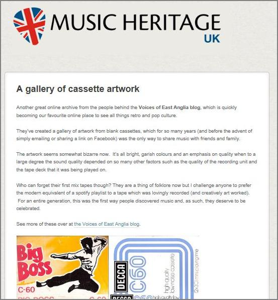 Music Heritage UK