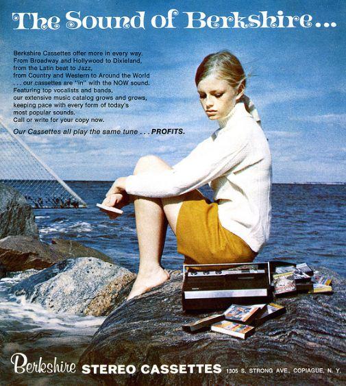 Cassette Advert 1960s