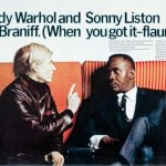 Andy Warhol and Salvador Dali 1968 Braniff Adverts