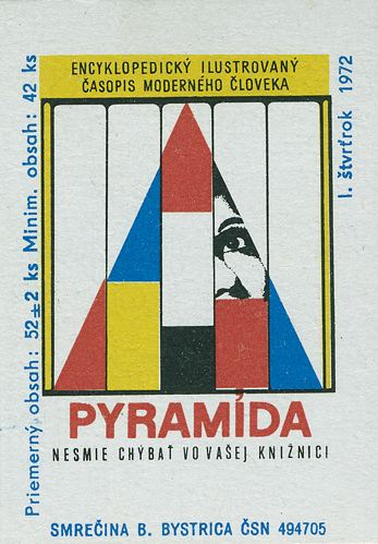 Czech Matchbox Label