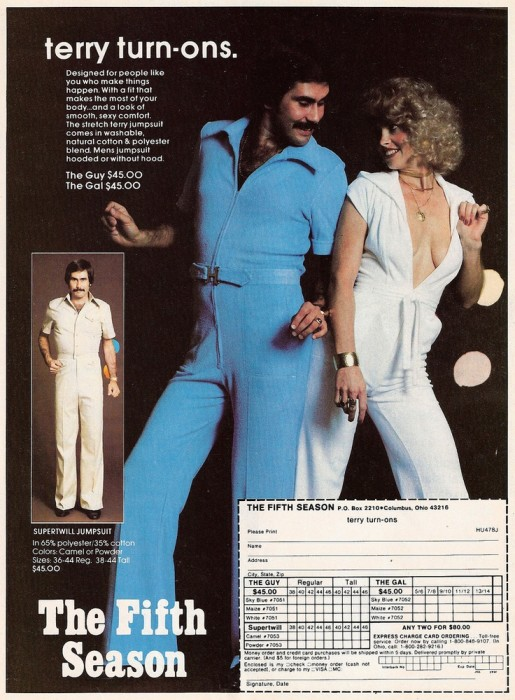 Terry Turn-ons1970s Jumpsuits