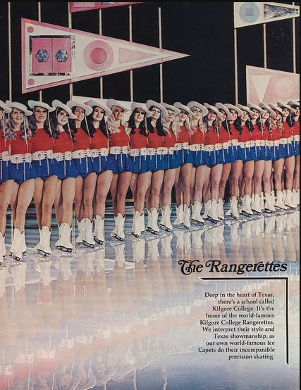 Ice Capades -The Rangerettes