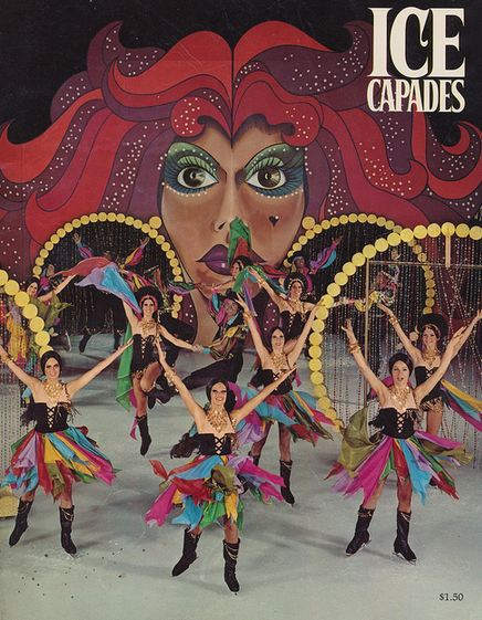 Ice Capades program 1974