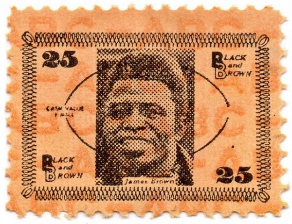 James Brown Stamp