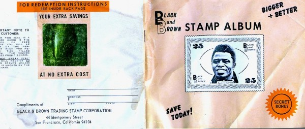 James Brown Stamp Album