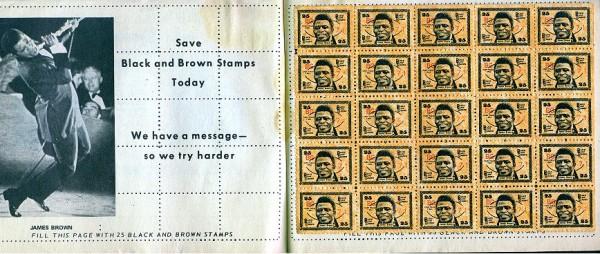 James Brown Stamp Book