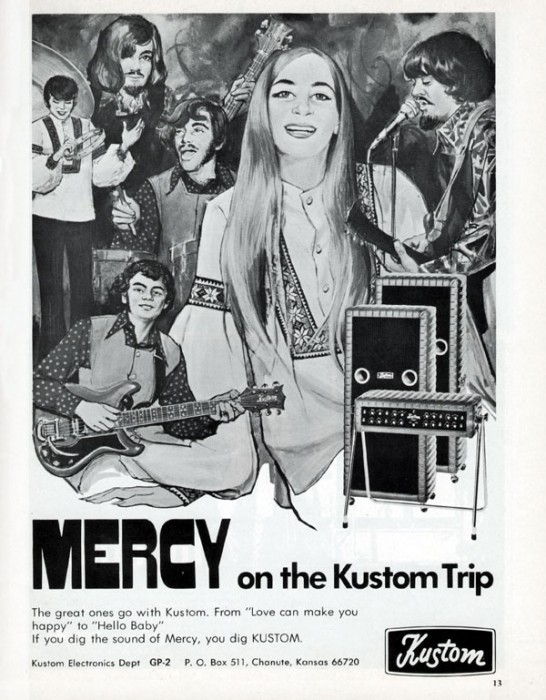Kustom amp advert