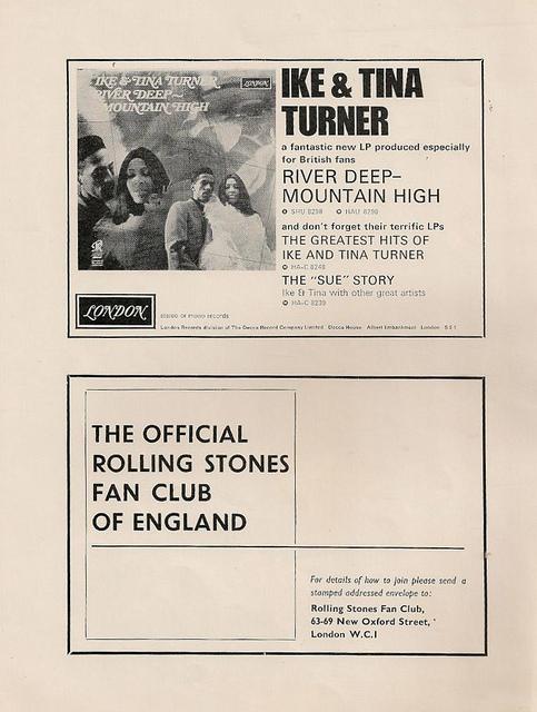 Rolling Stones 1966 Tour