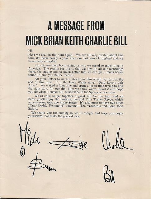 Rolling Stones Tour 1966
