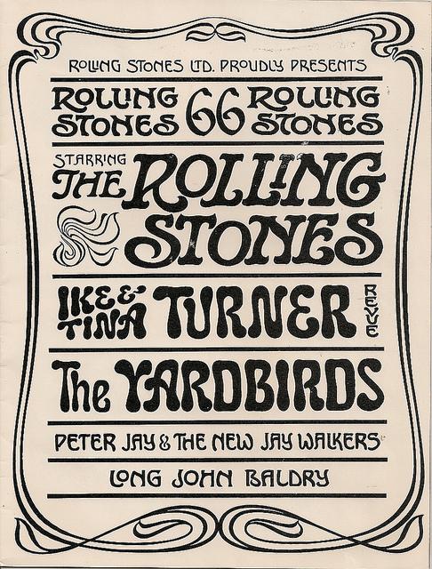 Rolling Stones Tour Line-up