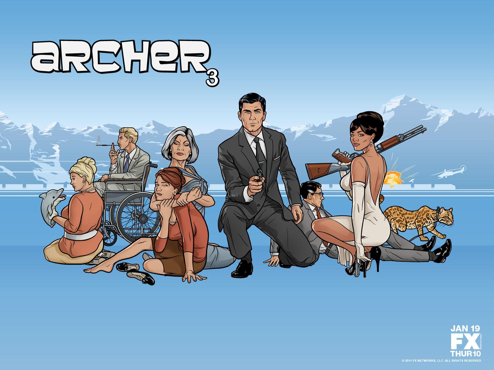 pics photos tv archer funny wallpaper