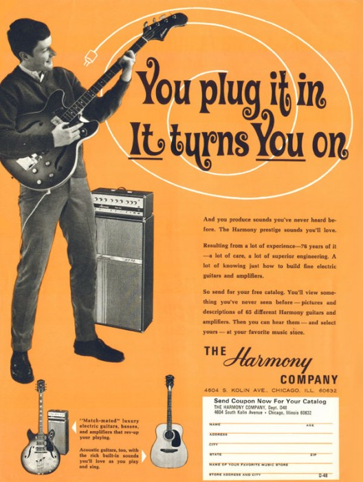 1968 Amplifier Advertisement