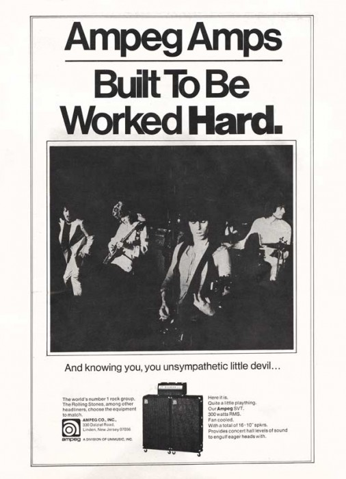 stones amp advert