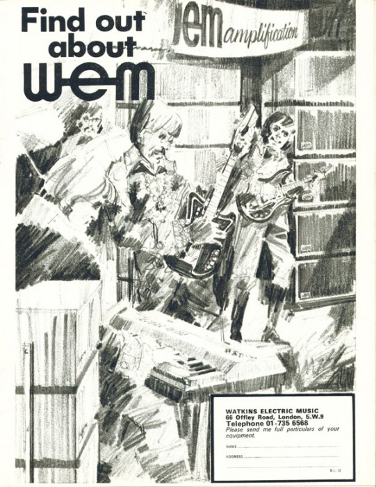 wem 1967 advert