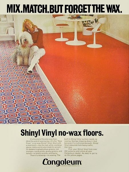 Cybill Shepherd Floor Advert