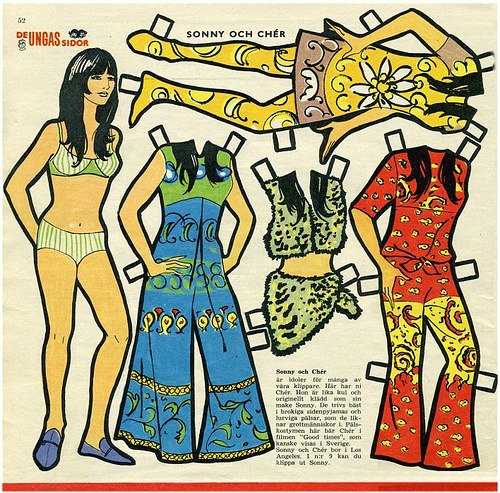 Cher Paper Doll