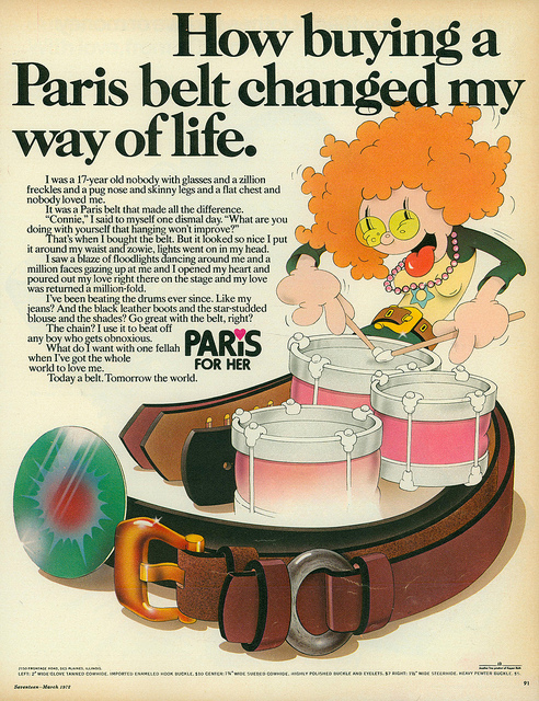 Belt Advertising