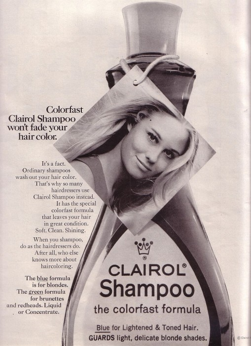 Clairol Cybill Advert