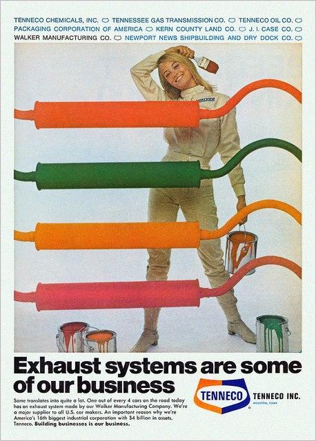 Cybil Exhaust Advert