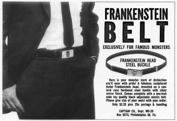 Frankenstein Belt