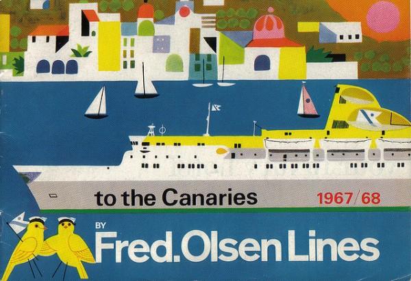 Fred Olsen 1967 Brochure